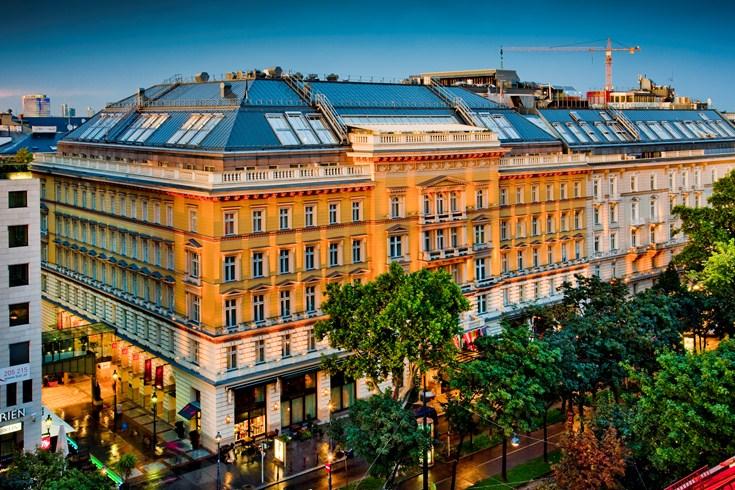 音楽の都と美食の都ウィーンに輝く伝統を持つ「グランド・ホテル・ウィーン」