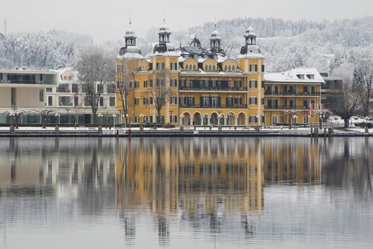 冬のファルケンシュタイナー・シュロスホテル・フェルデン