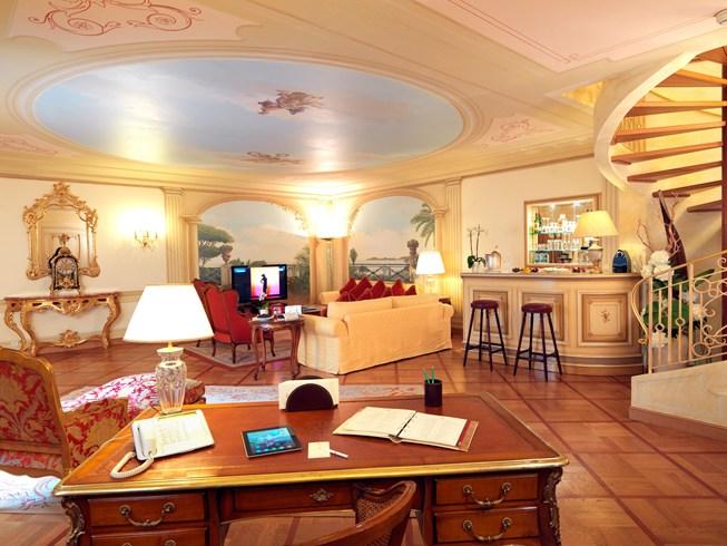 ラ・レゼルブ・ド・ボーリュー&スパの客室