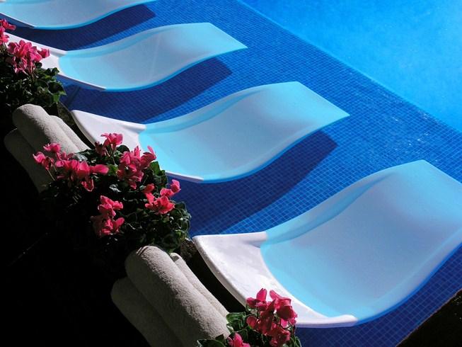 アルバ・パーク・コスタ・ブラバの屋外プール