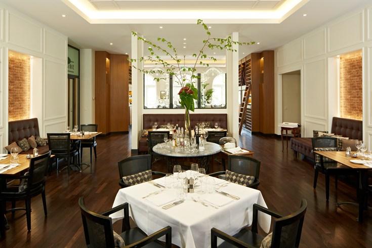 ヴィクトリア・ユングフラウ・グランド・ホテル&スパのレストラン