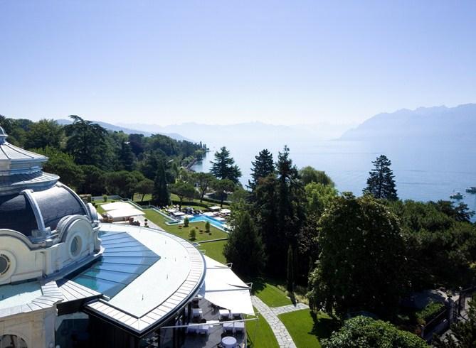 スイスの「ボー・リバージュ・パレス・ローザンヌ」で優雅なひと時を堪能