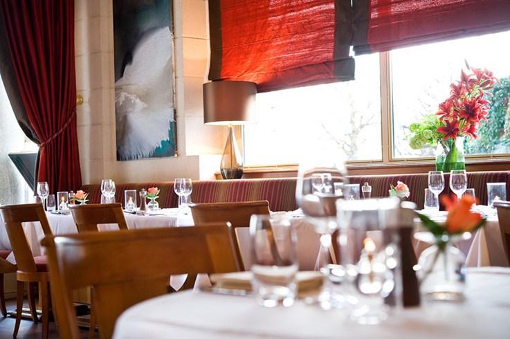 ボー・リバージュ・パレス・ローザンヌのミシュラン2つ星レストラン「アンヌ・ソフィー・ピック・オ・ボー・リヴァージュ・パレス」