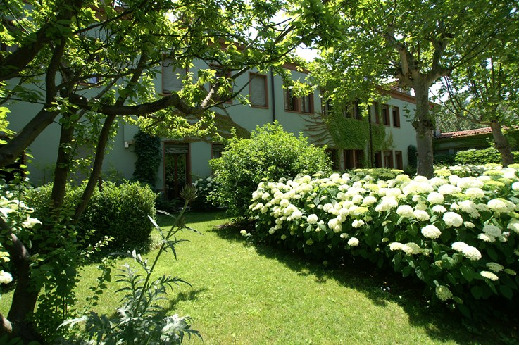 バウアー・パラディオ・ホテル&スパの庭園