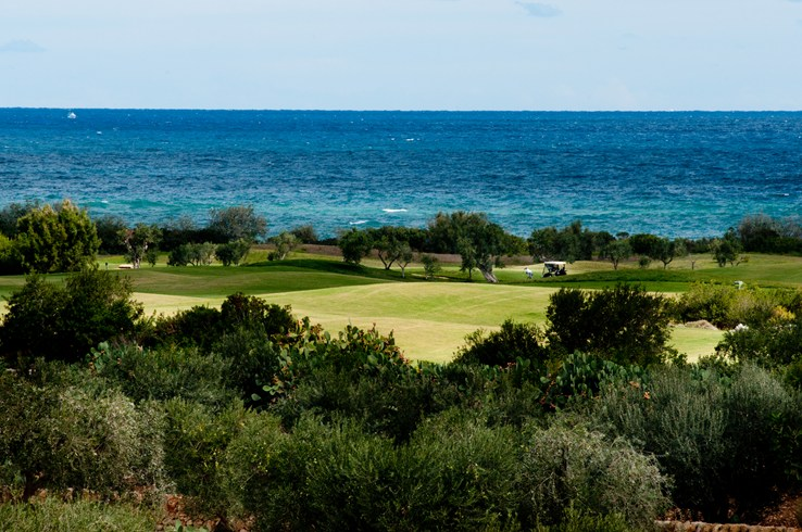 ボルゴ・イグナシアのゴルフコース
