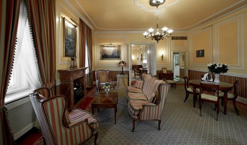 ホテル・ザッハー・ウィーンのプレジデンシャルスイート