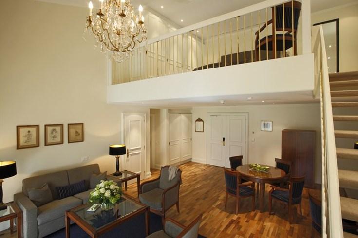 ヴィクトリア・ユングフラウ・グランド・ホテル&スパの客室