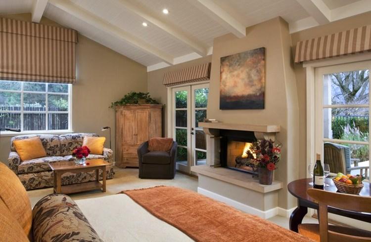バーナーダス・ロッジの客室