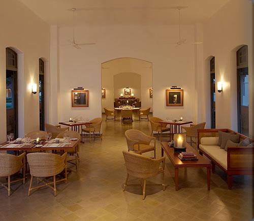 アマンタカのレストラン