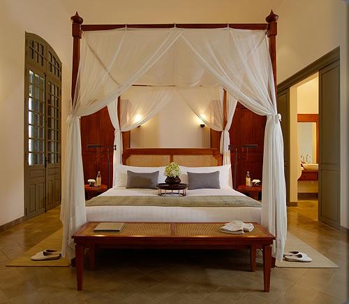 アマンタカスイートのベッド