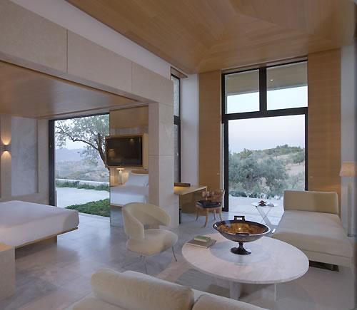 アマンゾイの客室