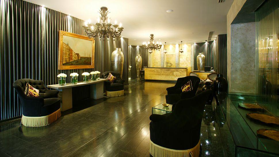 バリオーニ・ホテル・ロンドン Baglioni Hotel Londonのロビー