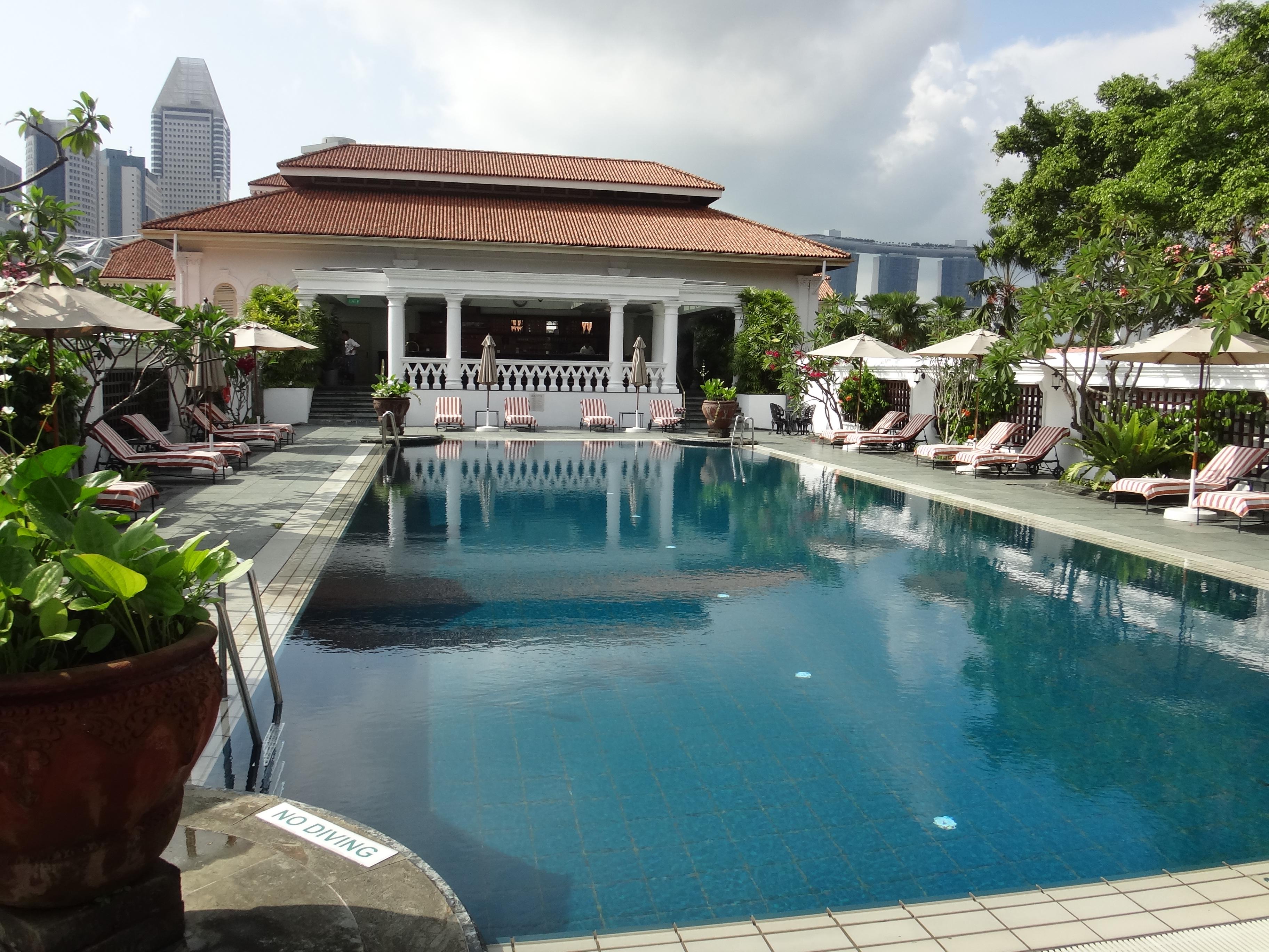 ラッフルズ・ホテル・シンガポールのスイミングプール