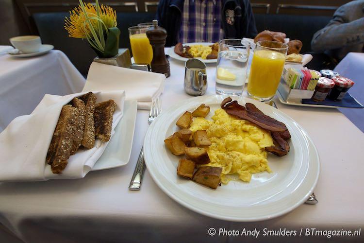 ザ・リージェンシー・バー・アンド・グリル The Regency Bar & Grillの朝食