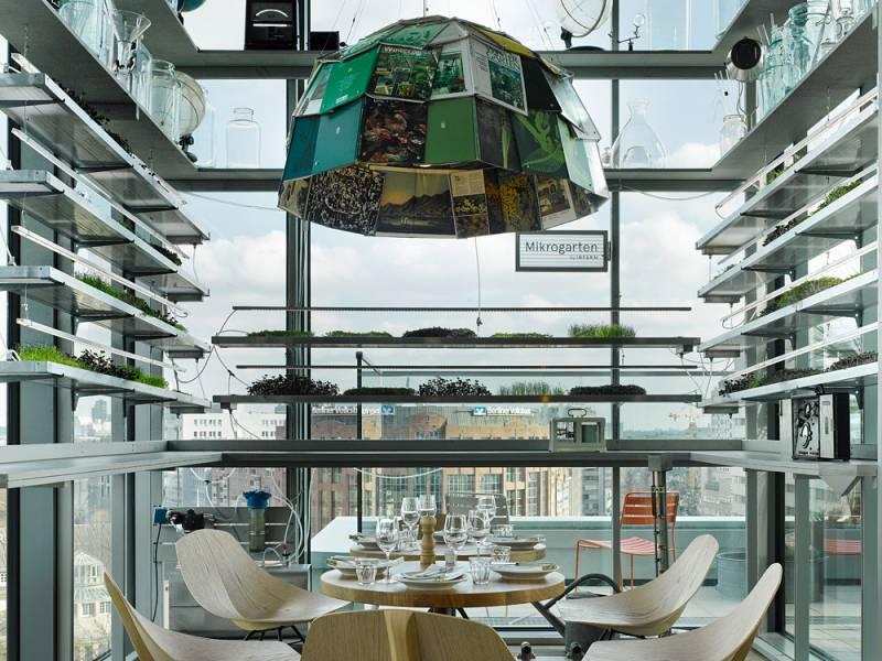 25アワーズ・ホテル・ビキニ・ベルリンのレストラン