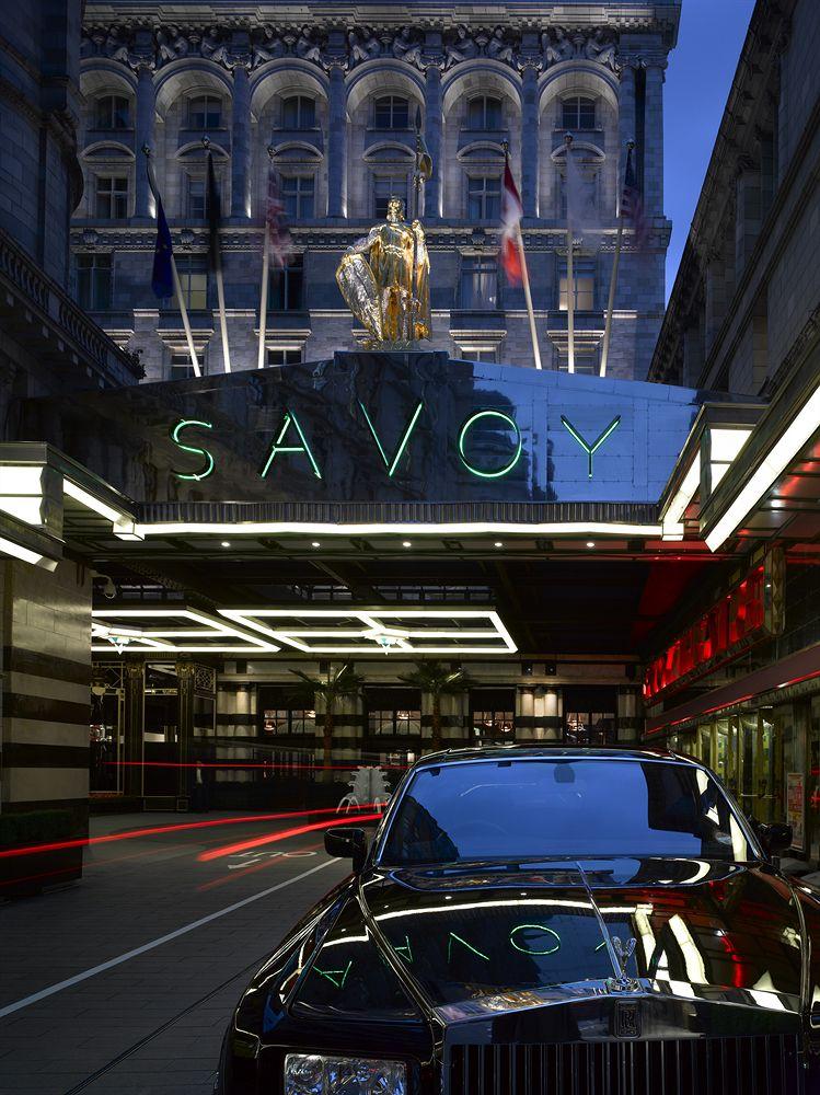 ザ・サヴォイ・フェアモント・マネージド・ホテル  The Savoy, A Fairmont Managed Hotelの外観