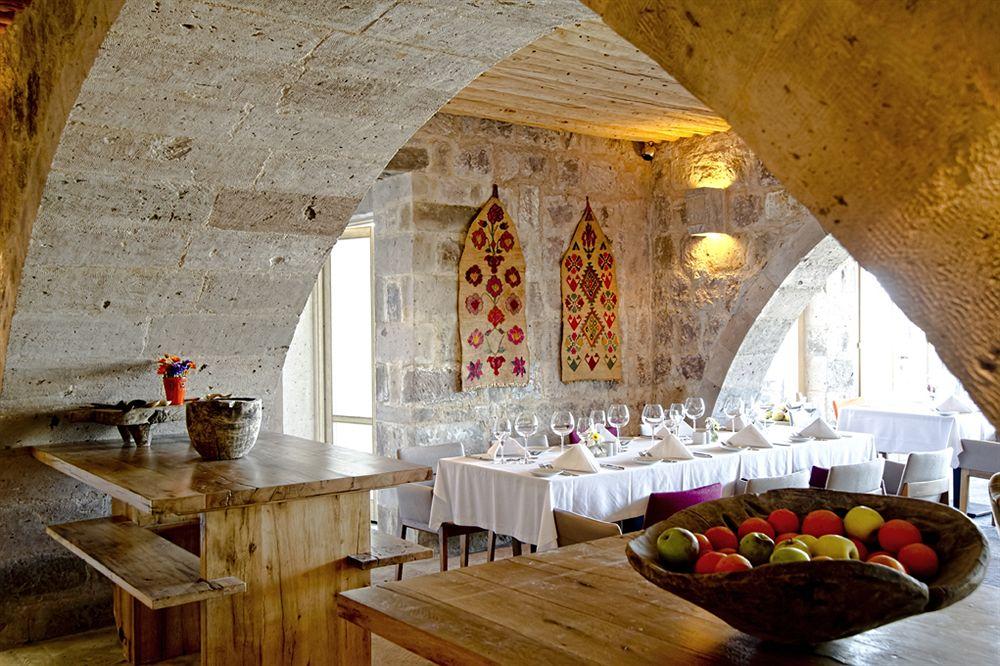 アルゴス・イン・カッパドキア Argos In Cappadociaのレストラン