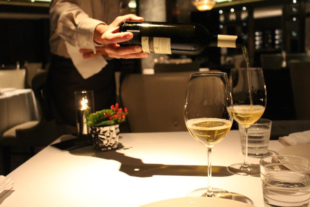 ザ・リッツ・カールトン沖縄のイタリアンレストランちゅらぬうじのワイン