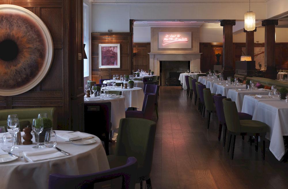 ロッコ・フォルテ・ブラウンズ・ホテル Rocco Forte Brown's Hotelのレストラン
