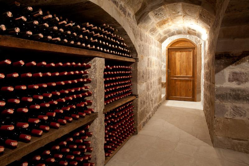 アルゴス・イン・カッパドキア Argos In Cappadociaのワインセラー
