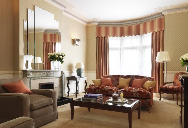 クラリッジズの客室