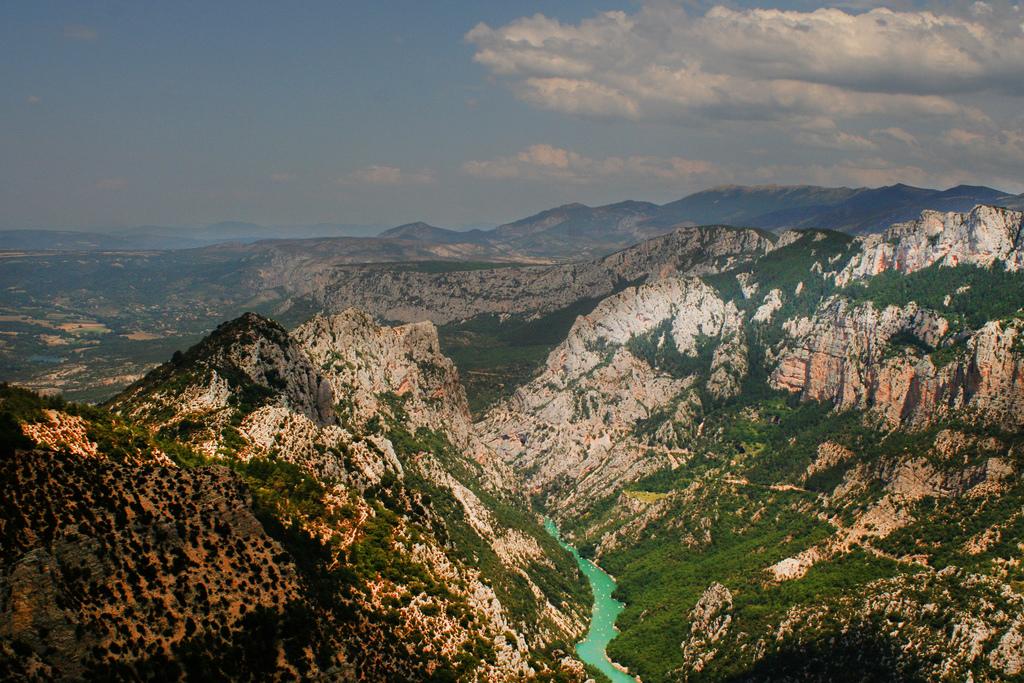 死ぬまでに一度は行きたい世界の絶景:フランスのヴェルドン峡谷