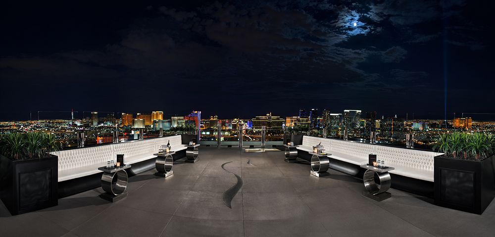パームス・カジノ・リゾート The Palms Casino Resortのバーからの眺め