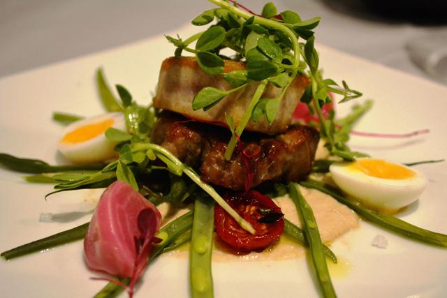 バリオーニ・ホテル・ロンドン Baglioni Hotel Londonのレストランの料理