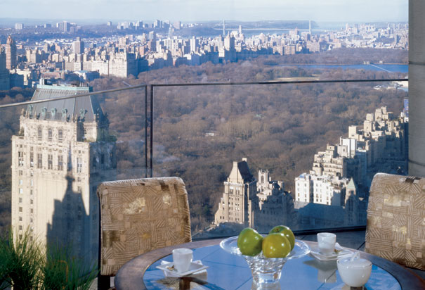 フォー・シーズンズ・ホテル・ニューヨーク Four Seasons Hotel New Yorkからの眺め