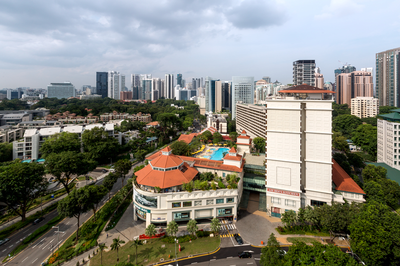 ホテル・ジェン・タングリン・シンガポール Hotel Jen Tanglin Singaporeの外観