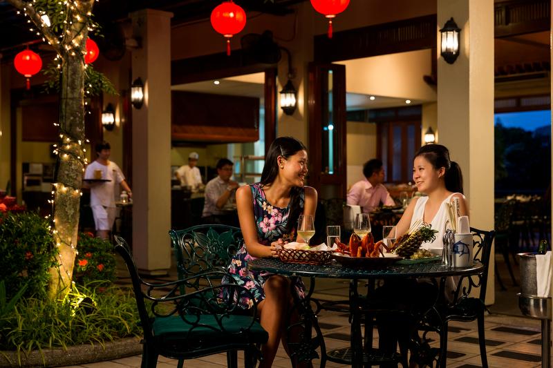 ホテル・ジェン・タングリン・シンガポール Hotel Jen Tanglin Singaporeのレストラン