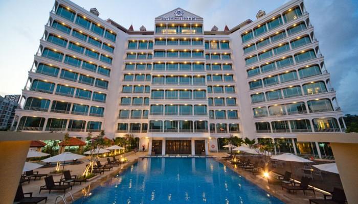シンガポールの伝統的な建築様式を施した贅沢な雰囲気漂う「パーク・ホテル・クラーク・キー」