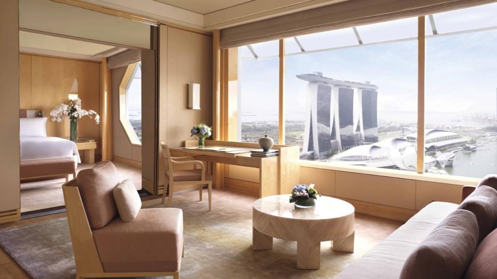 ザ・リッツ・カールトン・ミレニア・シンガポールの客室