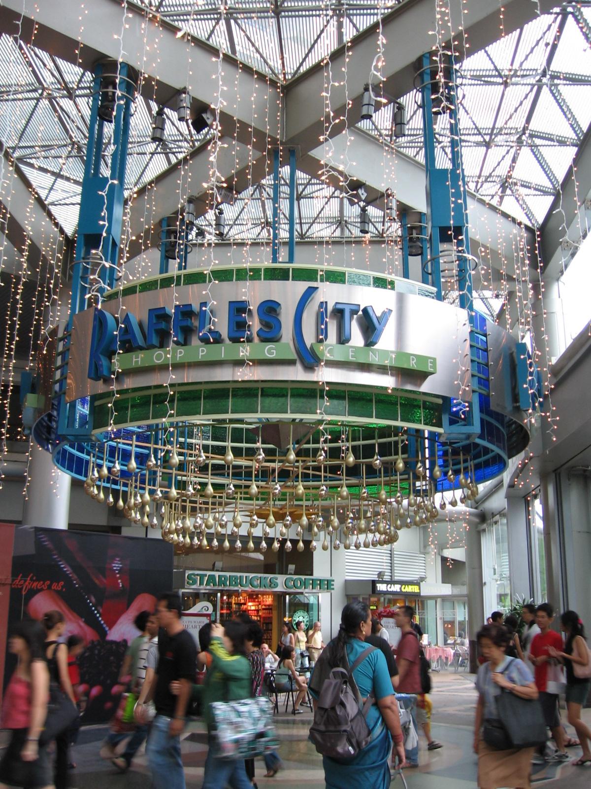 ラッフルズ・ホテル・シンガポール周辺ラッフルシティ