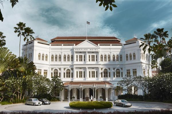ラッフルズ・ホテル・シンガポール Raffles Hotel Singaporeの外観