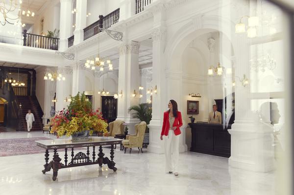 ラッフルズ・ホテル・シンガポール Raffles Hotel Singaporeのロビー