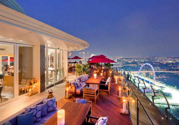 地上200メートルの57階建、世界が注目するシンガポールのランドマーク「マリーナ・ベイ・サンズ」