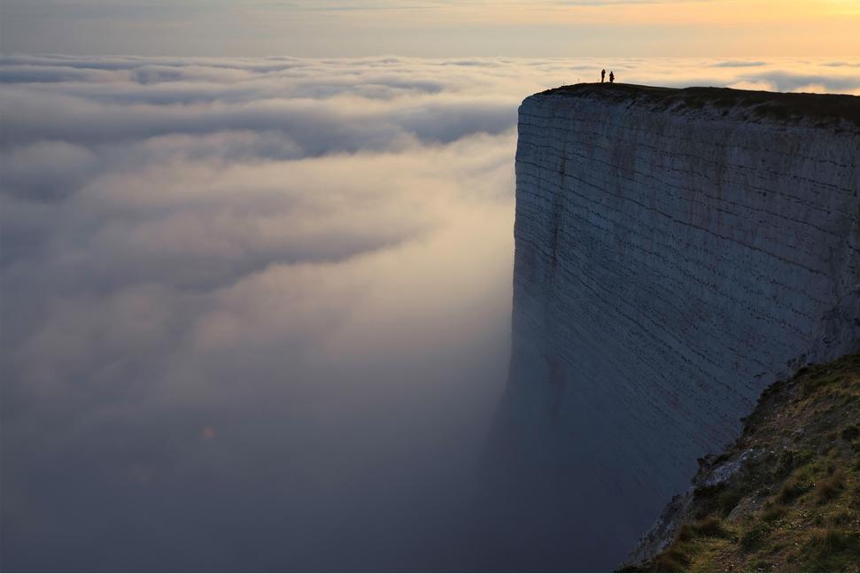 ビーチー・ヘッド Beachy Headと雲