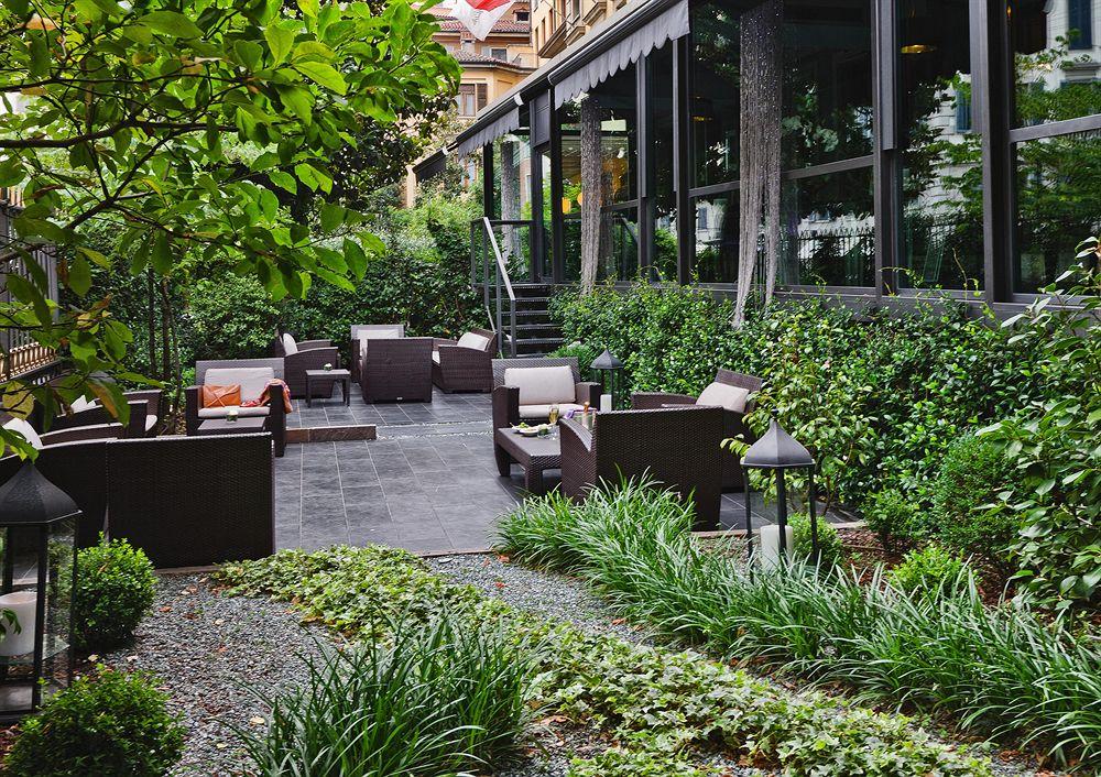 カールトンホテル・バリオリーニ・ミラノ 中庭