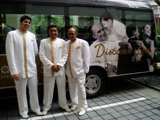 パーク・ホテル・クラーク・キーのシャトルバスサービス