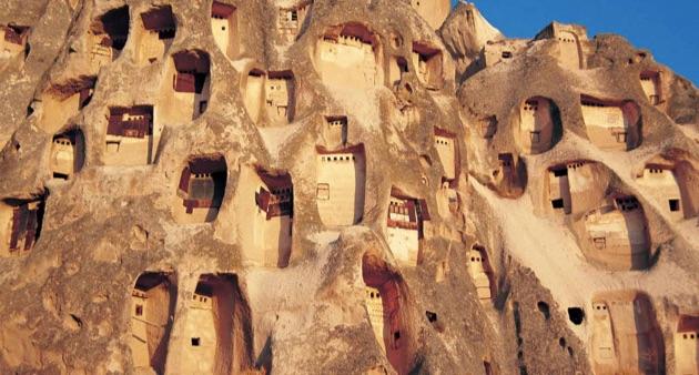 カッパドキアの鳩小屋