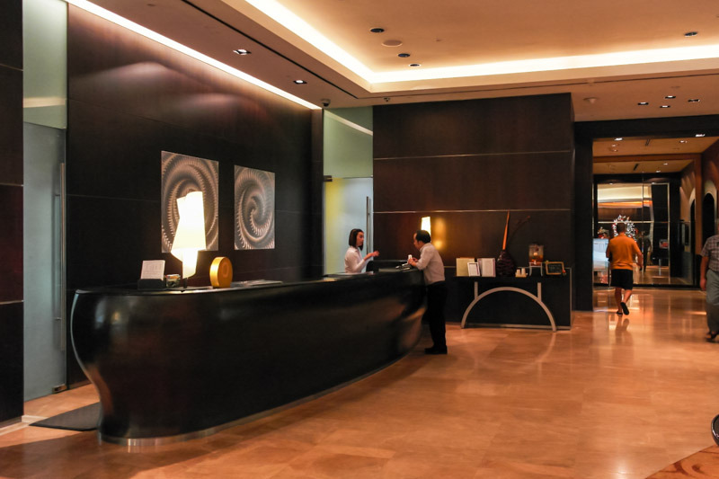 ホテル・ジェン・タングリン・シンガポール Hotel Jen Tanglin Singaporeのロビー