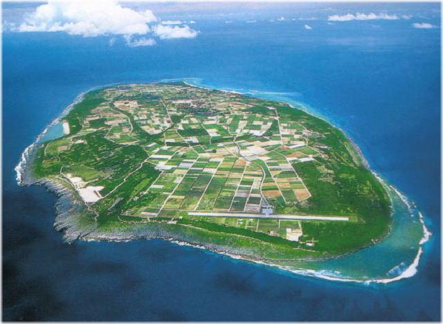 波照間島の全体写真