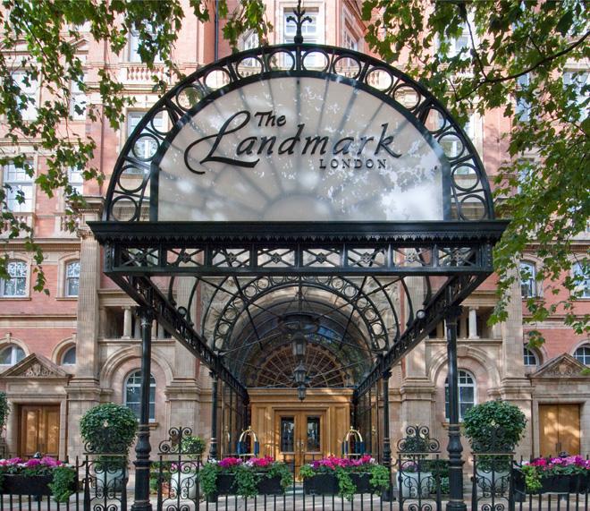 ザ・ランドマーク・ロンドン The Landmark Londonの入り口