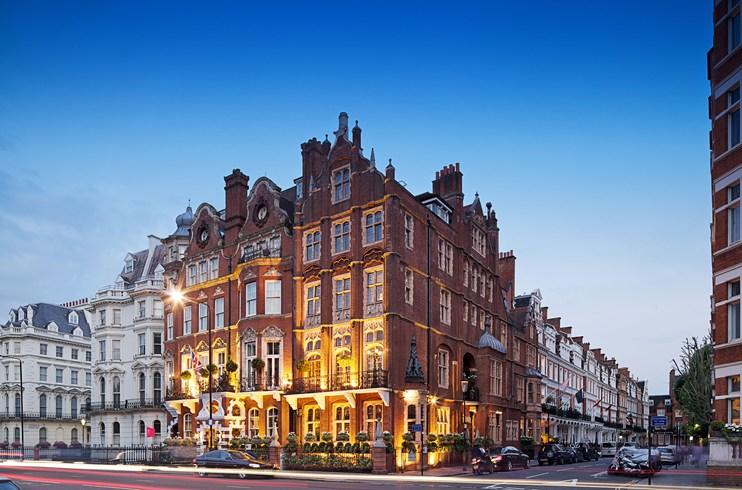 伝統と格式に裏打ちされたロンドンの「ザ・マイルストーン・ホテル」