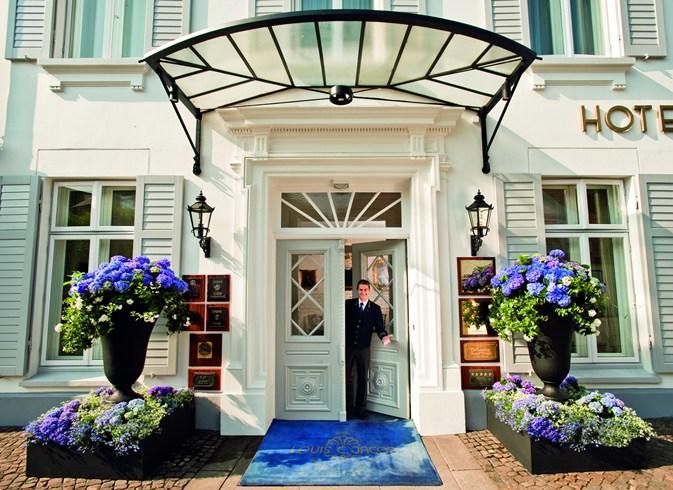ハンブルグのエルベ川を一望できるホテル「ホテル・ルイス・C. ヤコブ」