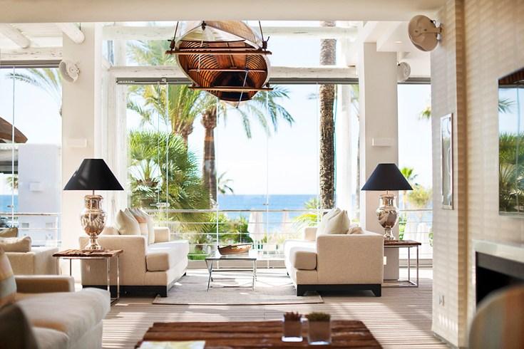 ホテル・プエンテ・ロマーノ・ビーチ・リゾート・マルベーリャ Puente Romano Beach Resort Marbellaのレストラン