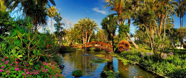 ホテル・ボタニコ&ザ・オリエンタル・スパ・ガーデン Hotel Botánico & The Oriental Spa Gardenの庭園