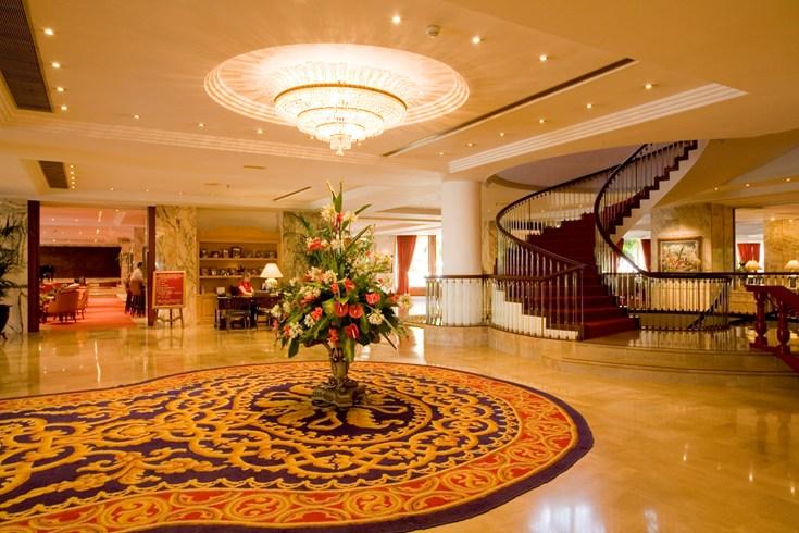 ホテル・ボタニコ&ザ・オリエンタル・スパ・ガーデン Hotel Botánico & The Oriental Spa Gardenのロビー