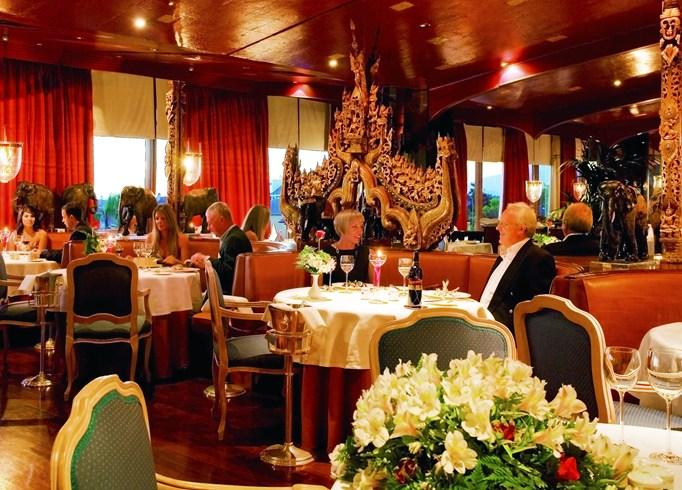 ホテル・ボタニコ&ザ・オリエンタル・スパ・ガーデン Hotel Botánico & The Oriental Spa Gardenのレストラン